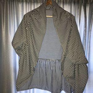 Anthropologie Kimono/wrap OS